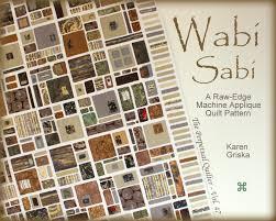 Wabi Sabi Quilt Pattern Modern Quilt Raw Edge Applique & ð???zoom Adamdwight.com
