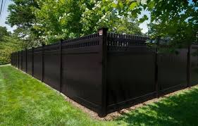 black vinyl fences. Fine Vinyl Black Vinyl Fencing  Garden Fencing Designs Can Be As Distinctive The  Individual For Those Who Have A Small Imaginatio For Fences E