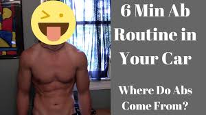 ab routine in your car