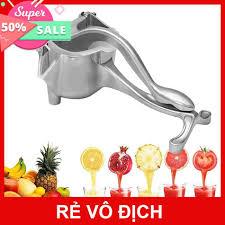Máy ép trái cây hoa quả bằng tay làm nước rau củ cầm tay đa năng bằng inox  mini nhỏ gọn tiện dụng, Giá tháng 11/2020