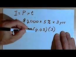 Calculating Simple Interest 127 4 18