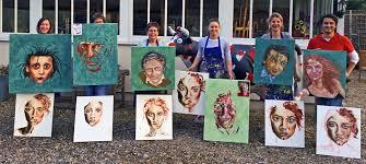 begin oil portrait painting