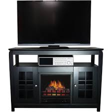 d eacute cor flame pinnacles 52 a fireplace for tvs up to 60 black com