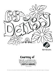 Girl Scout Coloring Pages Cookie Page Cookies Law Brownies