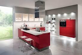 Deco Cuisine Rouge Cuisine Blanche Et Rouge Amazing Model De Cuisine