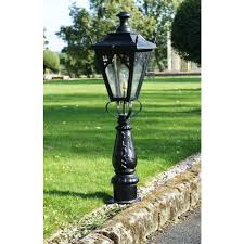 gothic design driveway and patio lighting