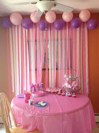 Diy Birthday Decorations Diy Birthday Party Decorations Love The Streamers On The Wall