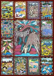 african animals jigsaw puzzle 1000 piece bright colorful puzzle featuring wild animals  on jigsaw puzzle wall art with amazon african animals jigsaw puzzle 1000 piece bright