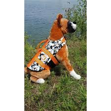 Paws Aboard Black White Camo Neoprene Pet Life Jacket Vest