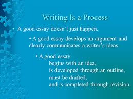writing an effective essay how to outline and structure an  writing is a process a good essay doesn t just happen