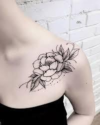 фото тату катя гета тату цветы на ключице Tattoosforwomen