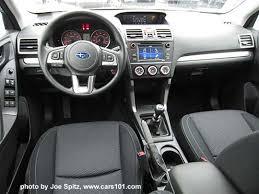 2018 subaru forester interior. plain subaru 2017 subaru forester 25 base model manual transmission black cloth  silver dash trim with 2018 subaru forester interior