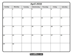 windows printable calendar 2018 april 2018 printable calendar http socialebuzz com april 2018