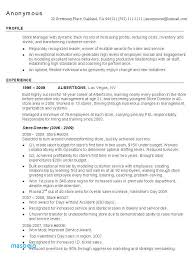 Retail Manager Resumes Custom Retail Manager Resume Examples Resume