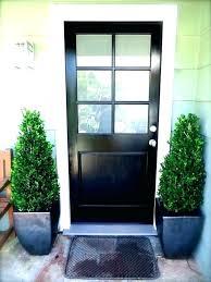 6 panel exterior door with glass admirable black wooden single half modern front frosted lite doors