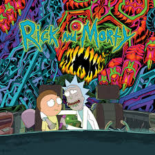 Rick And Morty Light Up Poster Rick And Morty The Rick And Morty Soundtrack Sub Pop