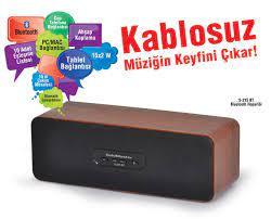 S-215 BT Bluetooth Hoparlör ile Kablosuz Müziğin Keyfini Çıkarın! Tüm  Tablet Ve Akıllı Telefonlara Uyumlu