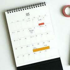 Desk Calendar Printable Cute Desk Calendar Carpimad Co