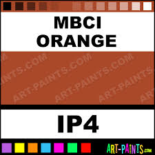 Mbci Color Chart Mbci Orange Industrial Metal And Metallic Paints Ip4