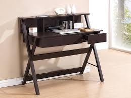 office desk storage. Amazon.com: TECHNI MOBILI Writing Desk With Storage - Wenge: Office Products T