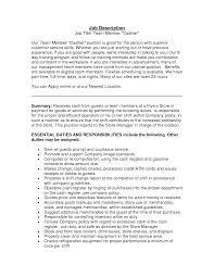 fast food cashier job description resume sample fast food cashier job description template sample