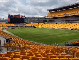 Steeler Game Seating Chart Heinz Field Section 118 Seat Views Seatgeek