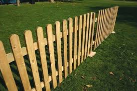 wood picket fence panels. Fine Panels Wooden  In Wood Picket Fence Panels
