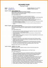 Resume Profile Examples For Students Resume Profile Sample For Professional Summary Freshers Examples 60