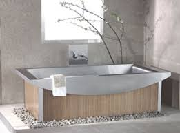 stainless steel bathroom fixtures. recycled stainless steel bath tub with bambo panel exterior bathroom fixtures n