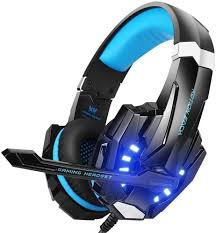 Led Light Xbox One Controller Bengoo G9000 Stereo Gaming Headset For Ps4 Pc Xbox One Controller Noise Cancelling Over Ear Headphones With Mic Led Light Bass Surround Soft