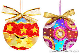 Cheap Paint Sample Christmas Tree Ornament Craft For Kids  Crafty Christmas Tree Ornament Crafts