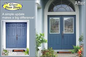 half glass front door half size cut out in metal front double doors wood and glass front door with sidelights