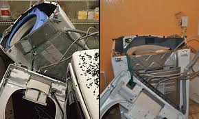 samsung washing machine explodes. Interesting Machine Samsung Recalls 28 Million Washing Machines After Reports Of Explosion In Washing Machine Explodes