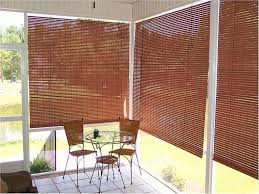 bamboo outdoor shades roll up