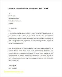 Medical Administrative Assistant Resume Elegant New Entry Level