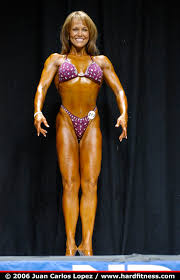 Maxine Johnson - twopiece - 2006 USA's Figure and Bodybuilding Championships