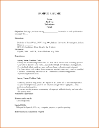 Job Resume Template Microsoft Word Microsoft Office Template