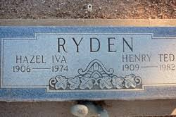 Henry Ted Ryden (1909-1982) - Find A Grave Memorial