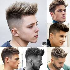 Styling hairstyles for teen guys