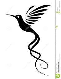 татуировка колибри иллюстрация вектора иллюстрации насчитывающей