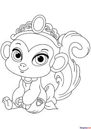 Monitos Tiernos Para Colorear Dibujos De Mono Sonriente Para Colorear Dibujos Para