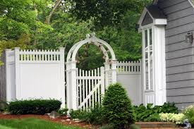 vinyl fence designs. Vinyl Fence Pictures | Armor \u0026 Supply Co., Inc. :: PVC Designs O
