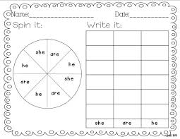 This Is A Sight Word Worksheet For Kindergarteners You Can Download ...