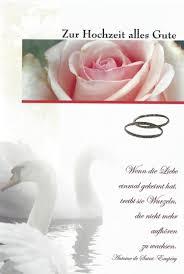 Glückwünsche Zur Hochzeit Spruch Schwaene Rosen Eheringe Hochzeit