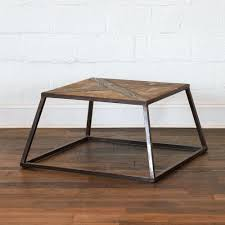 Urban Port Mango Wood Side Table With Drawer And Iron Base The Mod