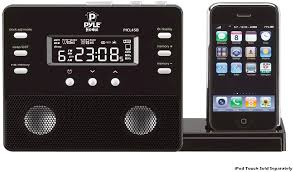 Pyle - PICL45B , Home and Office , Alarm Clock Radios - Plug-in Speakers