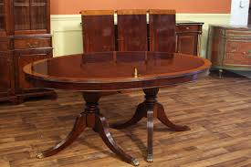 Oval Mahogany Dining Room Table Higher End Designer Tables - Dining room tables oval