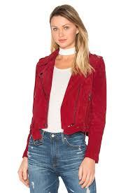 blanknyc moto jacket red moon women blanknyc jacket suede exclusive range get
