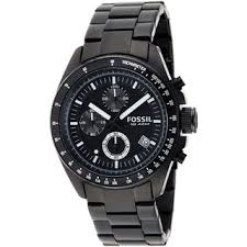 fossil men s watches shop the best deals for 2017 fossil men s ch2601 decker black steel chronograph watch