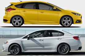 2018 ford focus st vs 2018 subaru wrx which is better featured image